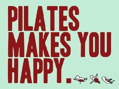 Pilates at ME Factory Yoga Emmen makes you happy!