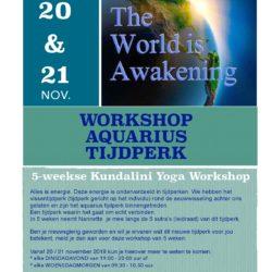 workshop aquarius tijdperk me factory yoga emmen lifestyle opleidingen