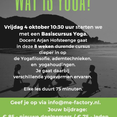 wat is yoga beginners cursus me factory yoga emmen