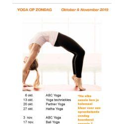 yoga op zondag emmen me factory